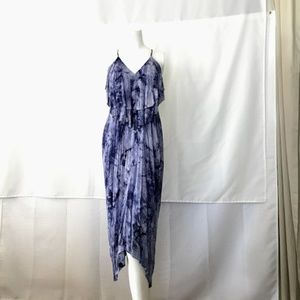 Lovposh Tie Dye Midi Dress